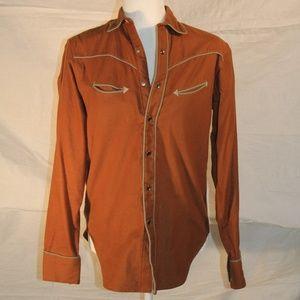 Vintage Ralph Lauren Western Wear cotton shirt, 8